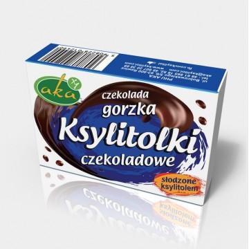 Ksylitolki czekoladowe...