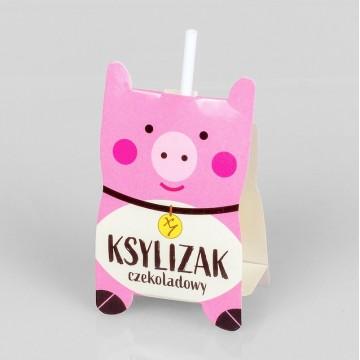 Lizak czekoladowa świnka...